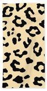 Cheetah Fur Bath Towel