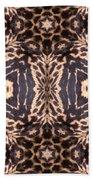 Cheetah Print Bath Towel