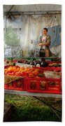 Chef - Vegetable - Jersey Fresh Farmers Market Bath Towel