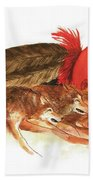 Cherokee Wolves Bath Towel