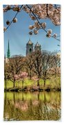 Cherry Blossom Branch Brook Park, Newark, Nj  Bath Towel