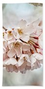 Cherry Blossom Closeup Bath Towel