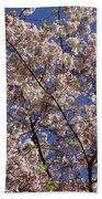 Cherry Tree In Bloom Bath Towel