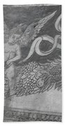 Cherub Stone Graffiti 2 Bath Towel