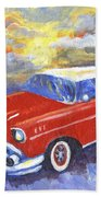 Chevy Dreams Bath Towel