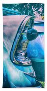 Chevy Lights Bath Towel