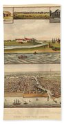 Chicago 1779-1857 Bath Towel