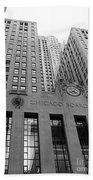 Chicago Board Of Trade Bath Towel