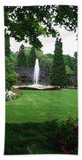 Chicago Botanical Gardens Landscape Bath Towel