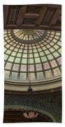 Chicago Cultural Center Tiffany Dome 01 Bath Towel