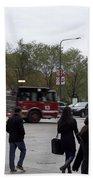 Chicago Fire Department Truck 13 Bath Towel