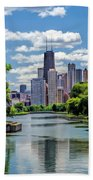 Chicago Lincoln Park Lagoon Bath Towel
