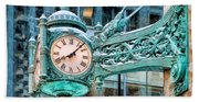 Chicago Marshall Field State Street Clock Hand Towel