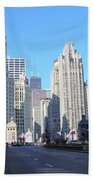 Chicago Miracle Mile Hand Towel