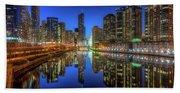 Chicago River East Bath Towel
