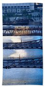 Chicago River First Light Bath Towel