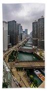 Chicago River Bath Towel