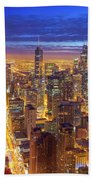 Chicago Skyline Hand Towel