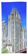 Chicago The Gothic Tribune Tower Bath Towel