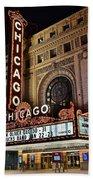 Chicago Theatre Bath Towel