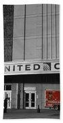 Chicago United Center Signage Sc Bath Towel