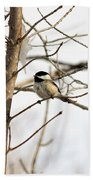 Chickadee Bath Towel