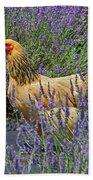 Chicken In The Lavender Bath Towel