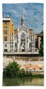 Chiesa Del Sacro Cuore Del Suffragio Bath Towel