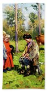 Children Of The Forest Bath Towel