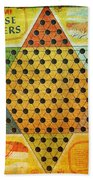 Chinese Checkers Bath Towel
