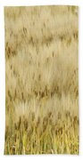 Chinese Rice Farmer Bath Towel