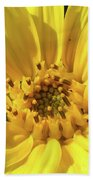 Chipmunk Planting - Sunflower Bath Towel