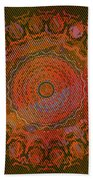 Chlorine Summer Mandala Bath Towel by Joy McKenzie