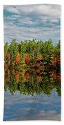 Chocorua Lake Reflection Bath Towel