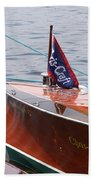Chris Craft Runabout Bath Towel