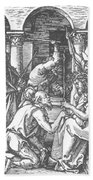 Christ Being Crowned With Thorns 1510 Bath Towel
