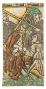 Christ Crowned With Thorns Bath Towel