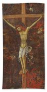 Christ On The Cross  Bath Towel