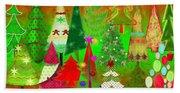 Christmas Trees Hand Towel