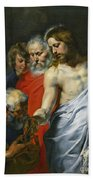 Christ's Charge To Peter  Bath Towel