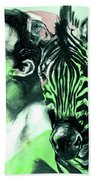 Chronickles Of Zebra Boy   Hand Towel by Rene Capone