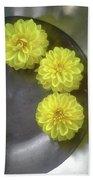 Chrysanthemums Bath Towel