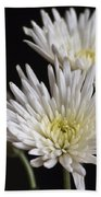 Chrysanthemums Bath Towel