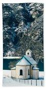 Church By The Achensee Bath Towel