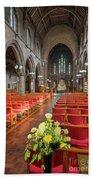 Church Flowers Hand Towel