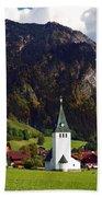 Church Of Bad Oberdorf  Bath Towel