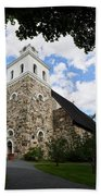 Church Of The Holy Cross At Rauma Bath Towel