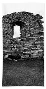 Church Ruins Hvalsey Bath Towel