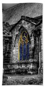 Church Windows Bath Towel