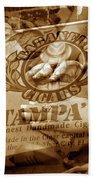 Cigars 7 Bath Towel